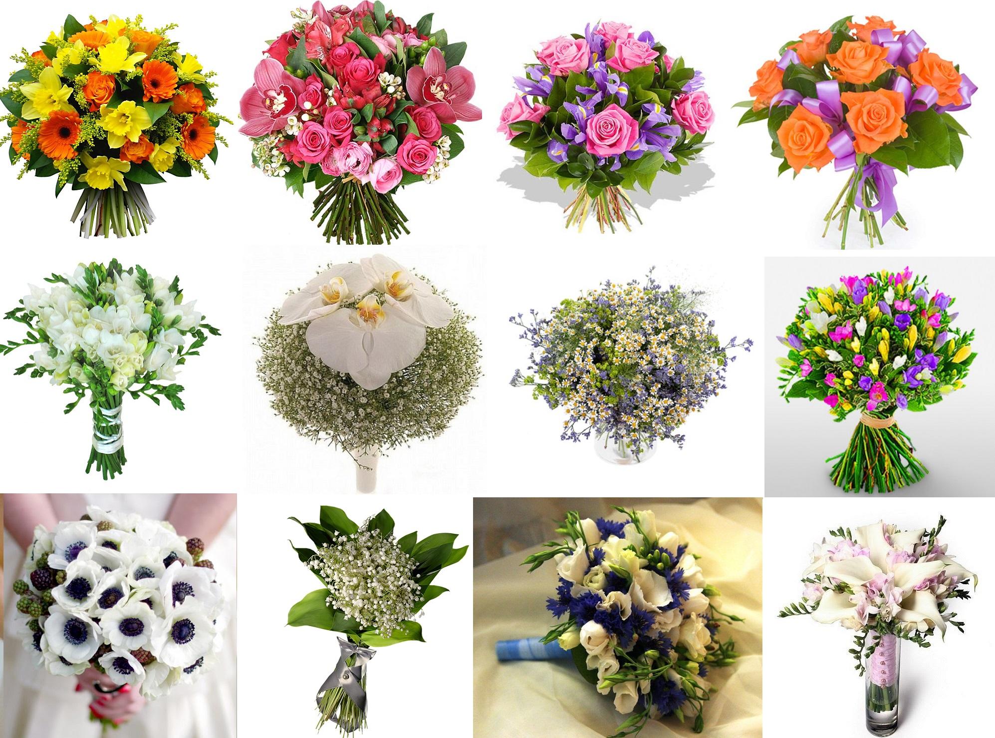 Как сделать красивый букет из цветов фото 584