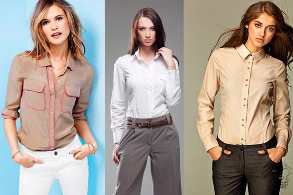030ce57d896c Många tjejer föredrar skjortor, eftersom de är bekväma, praktiska och snygga  utseende. En universell skjortblus kan bäras på en presentation eller till  och ...