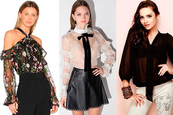 Модные блузки сшитые своими руками